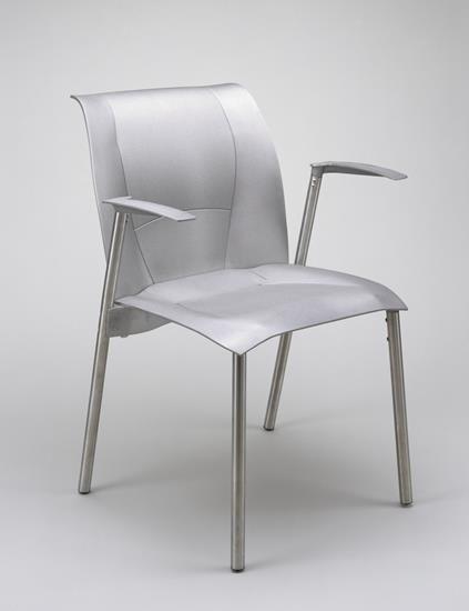 Discuss Gehry's architecture vs. furniture design