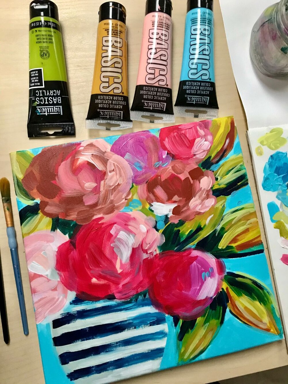 YouTube Flower Painting Tutorial for Beginners: Learn How ...