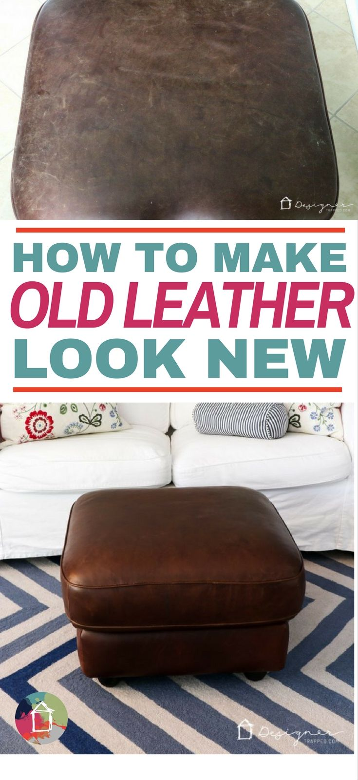 I Had No Idea How To Restore Leather Furniture, But This Makes It Look So  Easy. I Canu0027t Wait To Try It On My Couch!