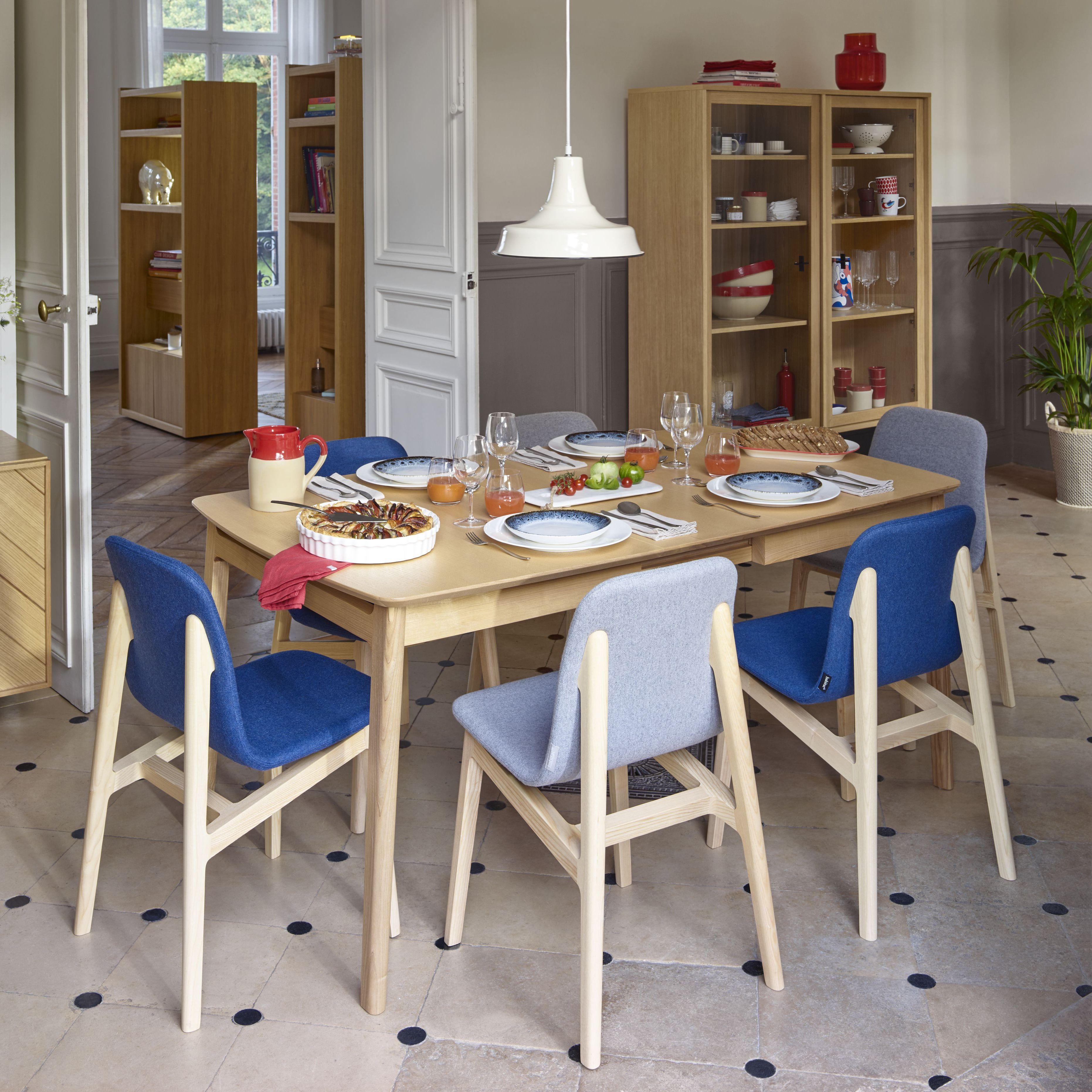 My Mia Table Extensible En Frene Design By Noe Duchaufour Lawrance Table De Salle A Manger Extensible Table Salle A Manger Grandes Salles A Manger