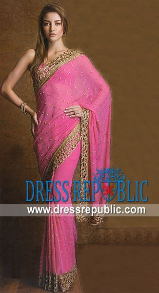 92ba80a07c0c86 Rose Nude Neville, Product code: DR6707, by www.dressrepublic.com -  Keywords: Saree Shops in Toronto, Mississauga, Brampton, Markham, St.  Catharines, ...