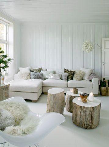 Warm wit interieur | Pinterest | Fransen, Wohnzimmer gemütlich und ...