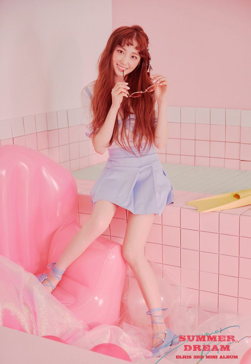 Elris Yukyung Kpop Girls Summer Dream Kpop Girl Groups