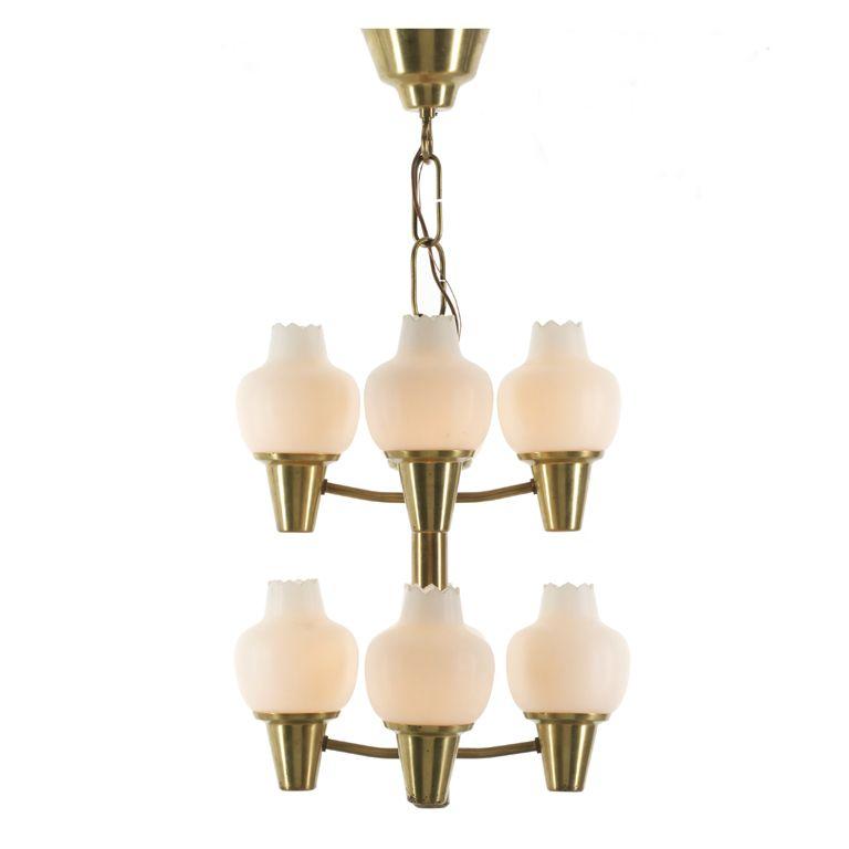 chandelier by Hans Bergstrom