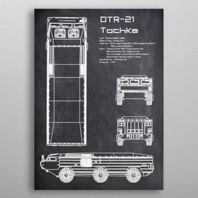 OTR 21 Tochka by FARKI15 DESIGN | metal posters - Displate | Displate thumbnail