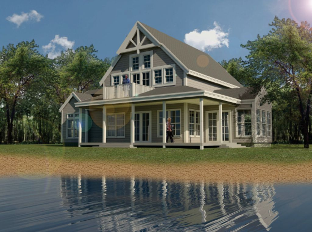 lake house 2200 square feet make pantry into mudroom add bunkroom in - House Plans With Porches