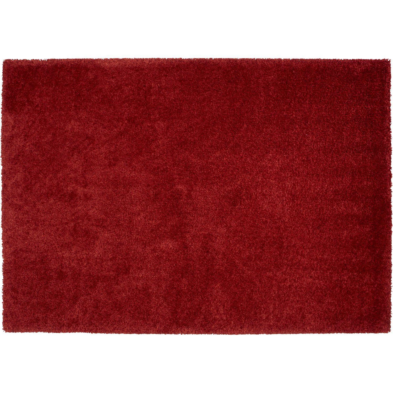 Tapis Shaggy Lizzy Rouge 230x160 Cm Tapis Shaggy Tapis Et Tapis Exterieur