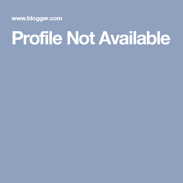 Profile Not Available