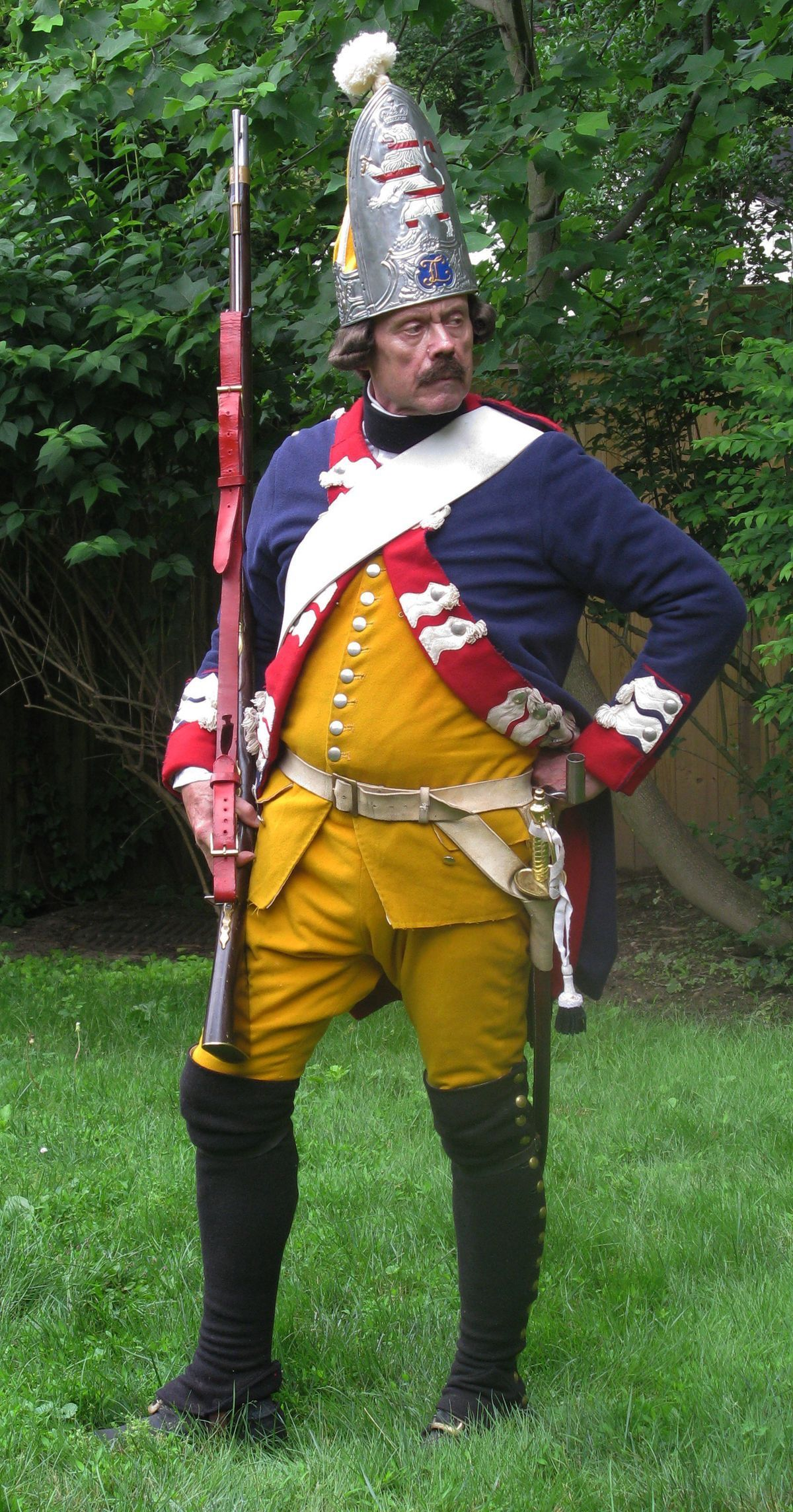 List of hessian soldiers in the american revolution