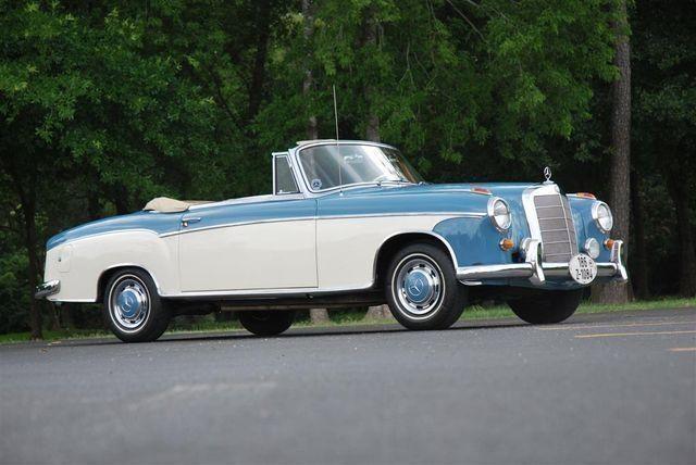 Mercedes benz 220 se cabriolet 1959 picture for 1959 mercedes benz