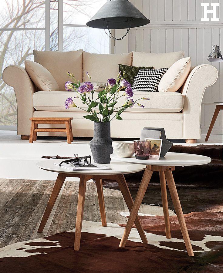 Elegant SOHO Landhaus Sofa Olivia