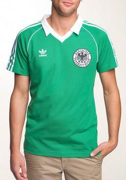 Adidas Dfb Retro Tee Football Fussball Euro 2012 Camisas De Futebol Futebol Clubes