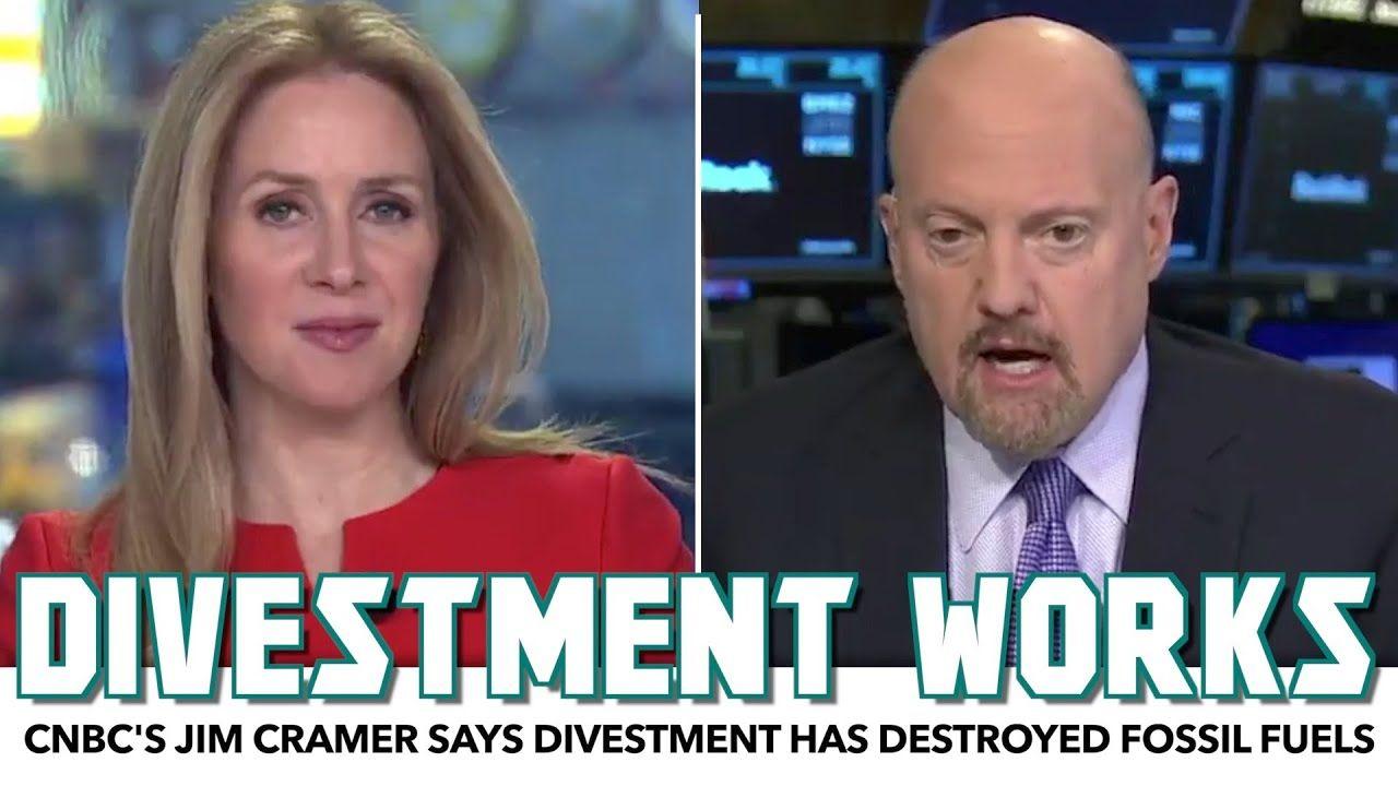 Cnbc S Jim Cramer Says Divestment Has Destroyed Fossil Fuels Fossil Fuels Destroyed Fossil