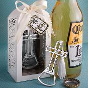 Brilliantly Packaged Cross Bottle Opener For Baptism, Christening or Communion.