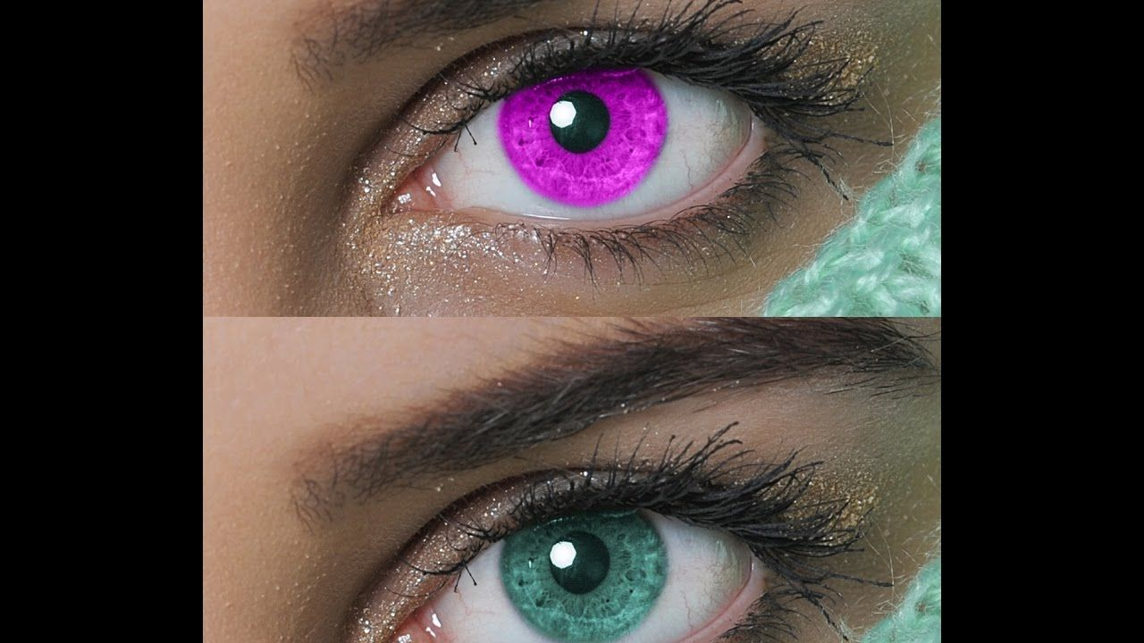 How to change Eye color by using Adobe CS6 Eye