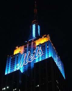 Big Game tonight  vs The Los Angeles Dodgers. 10/15/15. Let's go Mets. The City is behind you.