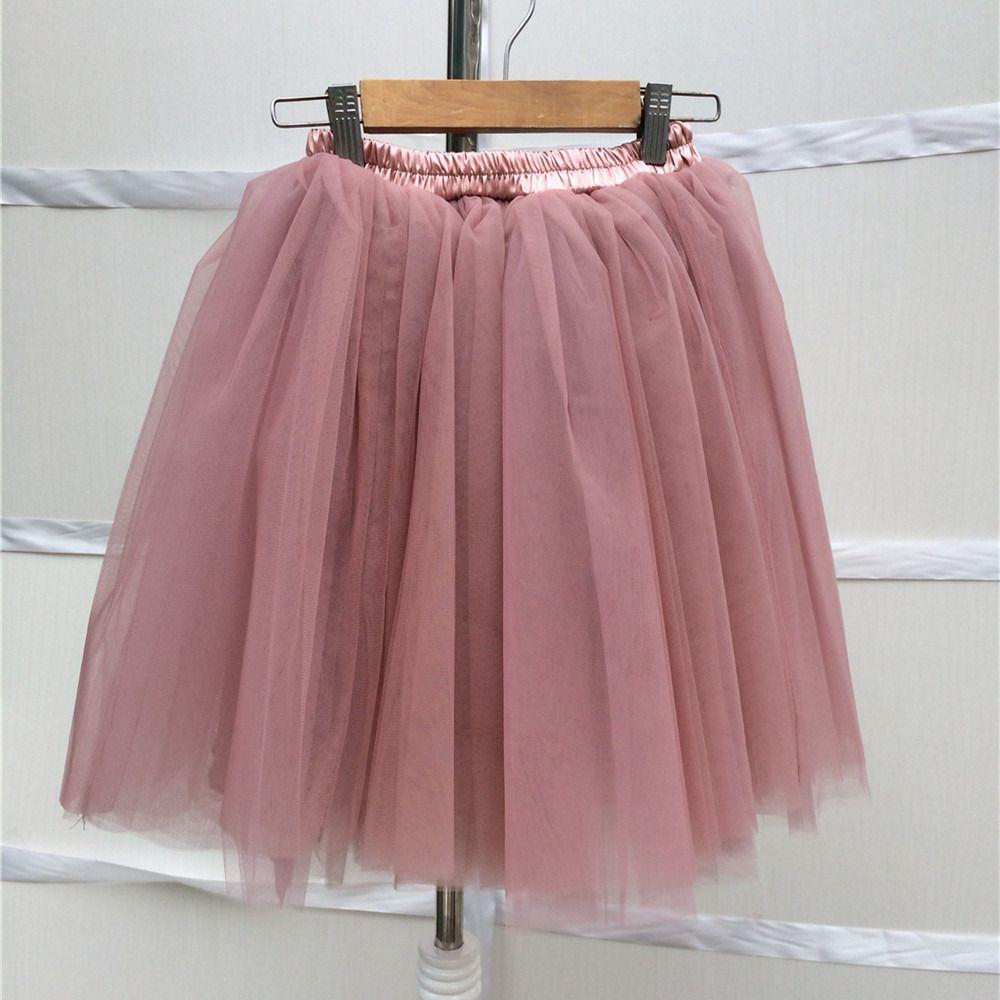 chic jupe tutu de tulle rose mauve femme l gante romantique et la qualit jupe par bravechic. Black Bedroom Furniture Sets. Home Design Ideas