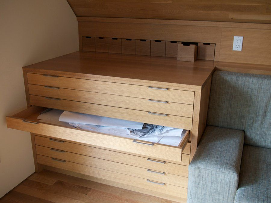Illustration of How to Transform Busy Home Office with Flat File ...