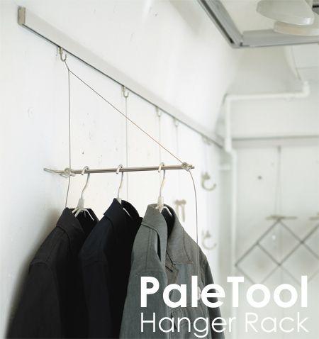 Paletool ハンガーラック 壁掛けハンガーラック ピクチャー