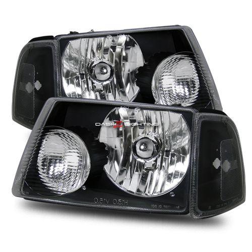 01 09 Ford Ranger Crystal Headlights Black 2002 Mazda Offroad