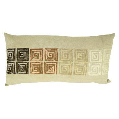 Design Accents Ombre Key Pillow - 28L x 14W in. - NSG36688-14X28-OMBRE