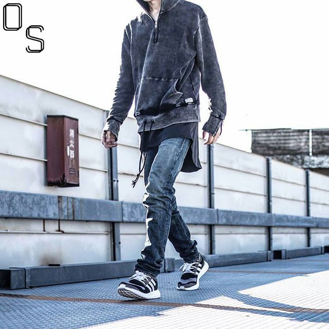 4ef9bb5f5  OutfitSociety via  blvckxculture Presents  prsk sneaker so Profound   Profound Co Hoodie Fear of God Tank 424 Inc Denim Jeans and Adidas x Y3 ZG  Pure Boost
