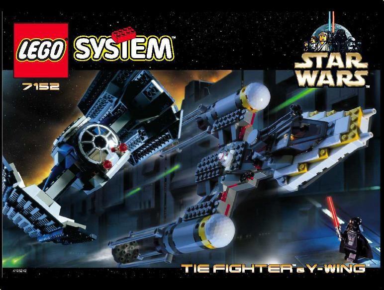 Star Wars Episode 4 6 Tie Fighter Y Wing Lego 7152