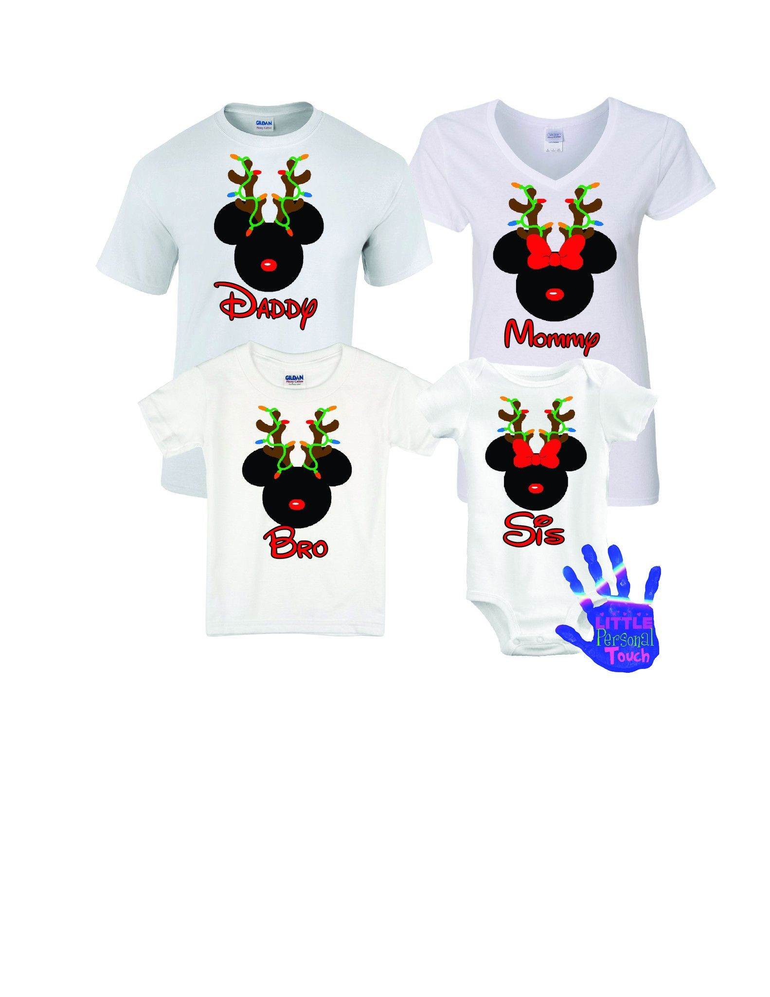 Christmas Disney Shirt, Personalized Disney Family Vacation Shirts ...