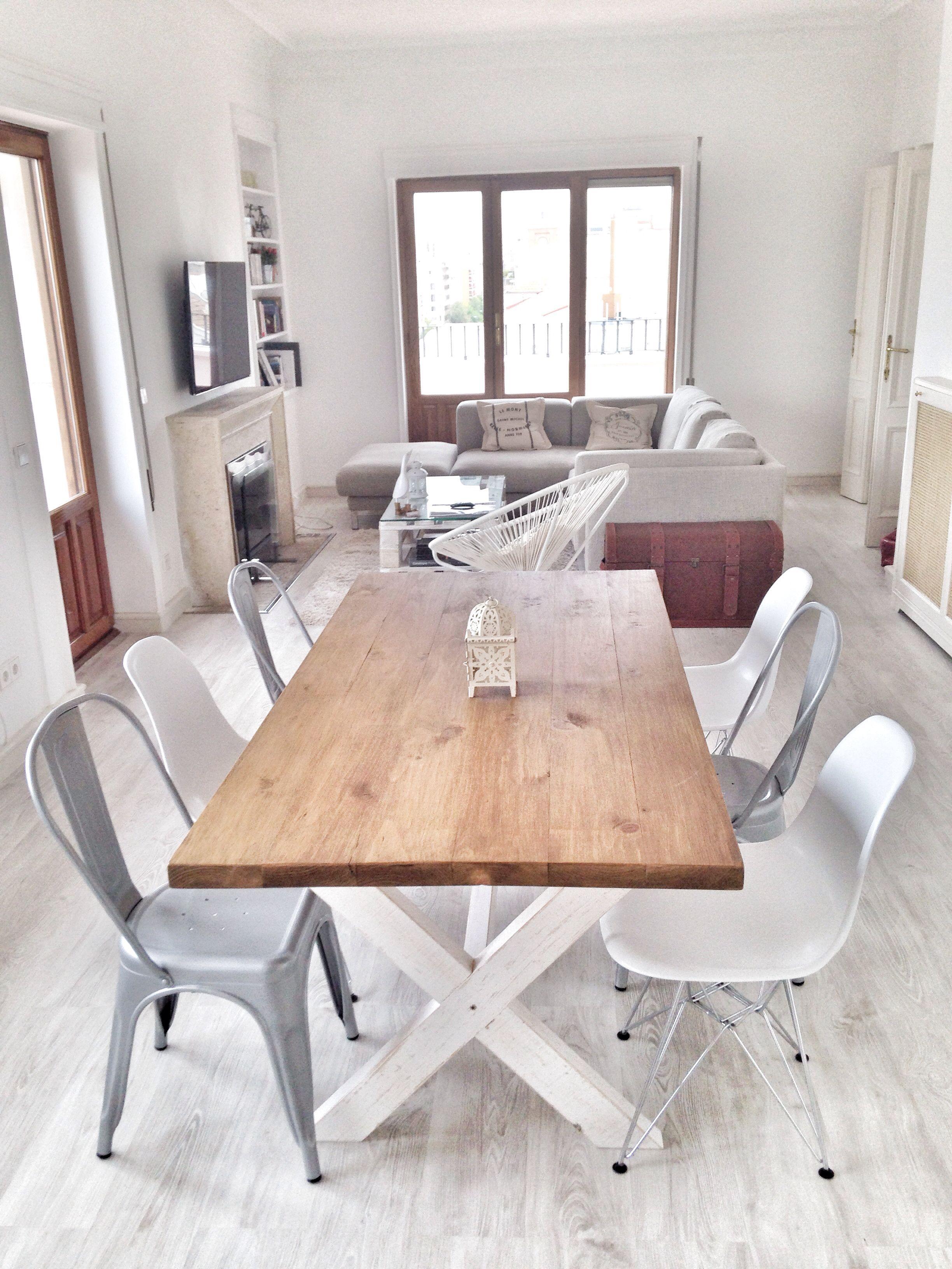 Salon estilo escandinavo blanco | Montecarmelo | Pinterest | Salón ...