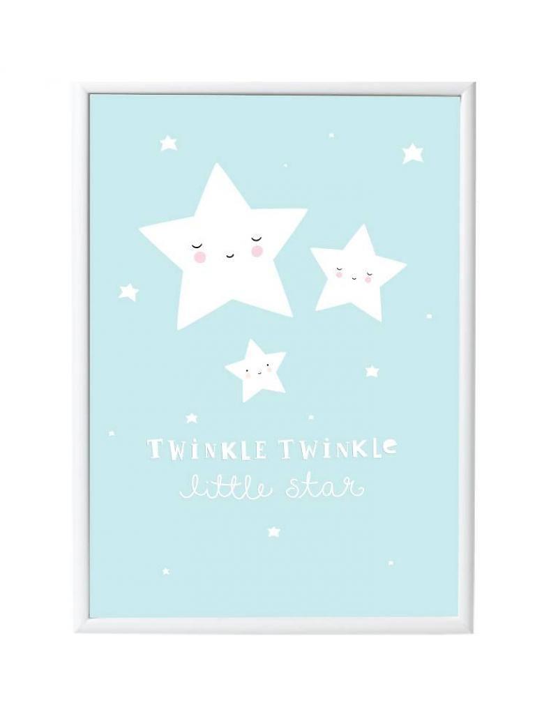 A Little Lovely Company affiche 'Twinkle little stars' | bedroom