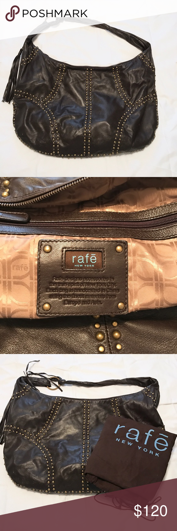 bb82e89dd1 Rafe Leather Bag Rafe New York Large Soft Leather Bag. Great Condition. Rafe  New York Bags Hobos