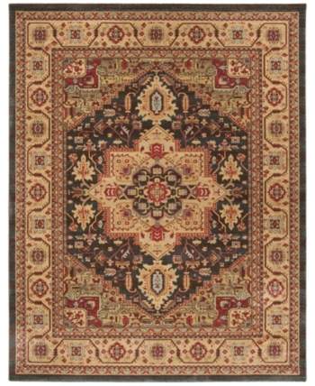Safavieh Mahal Navy And Natural 8 X 11 Area Rug In 2019