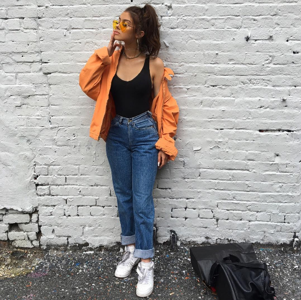 style me series in search of a unisex top  90s fashion