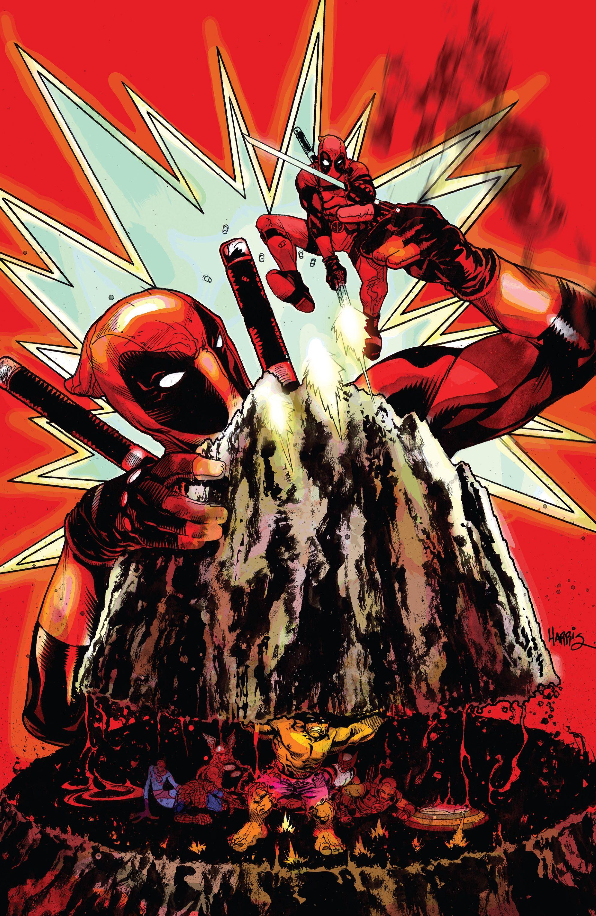 #Deadpool #Fan #Art. (Deadpool's Secret Secret Wars Vol.1 #2 Cover) By: Tony Harris. (THE * 3 * STÅR * ÅWARD OF: AW YEAH, IT'S MAJOR ÅWESOMENESS!!!™) [THANK U 4 PINNING!!!<·><]<©>ÅÅÅ+(OB4E)