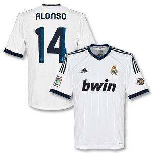 12 13 Real Madrid Home Jersey Alonso 14 By Adidas 99 99 Cristiano Ronaldo Jersey Ronaldo Jersey Ronaldo