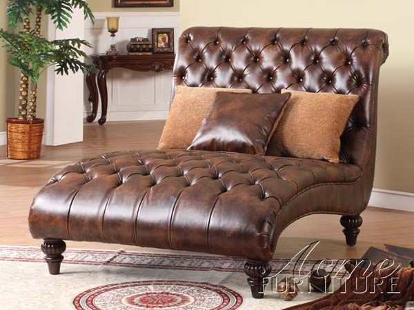 Anondale Chaise Lounge W/Pillows By Acme 15035....maybe in the : coaster chaise lounge - Sectionals, Sofas & Couches