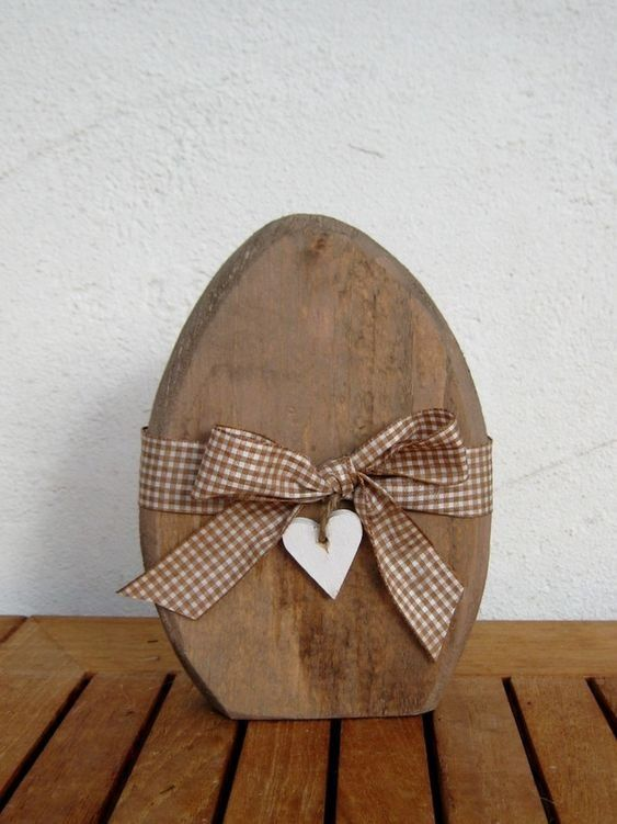Photo of XXL 35 cm country house Easter egg, entrance decoration, Easter decoration, Easter, table decoration, spring, interior and exterior decoration, gift idea