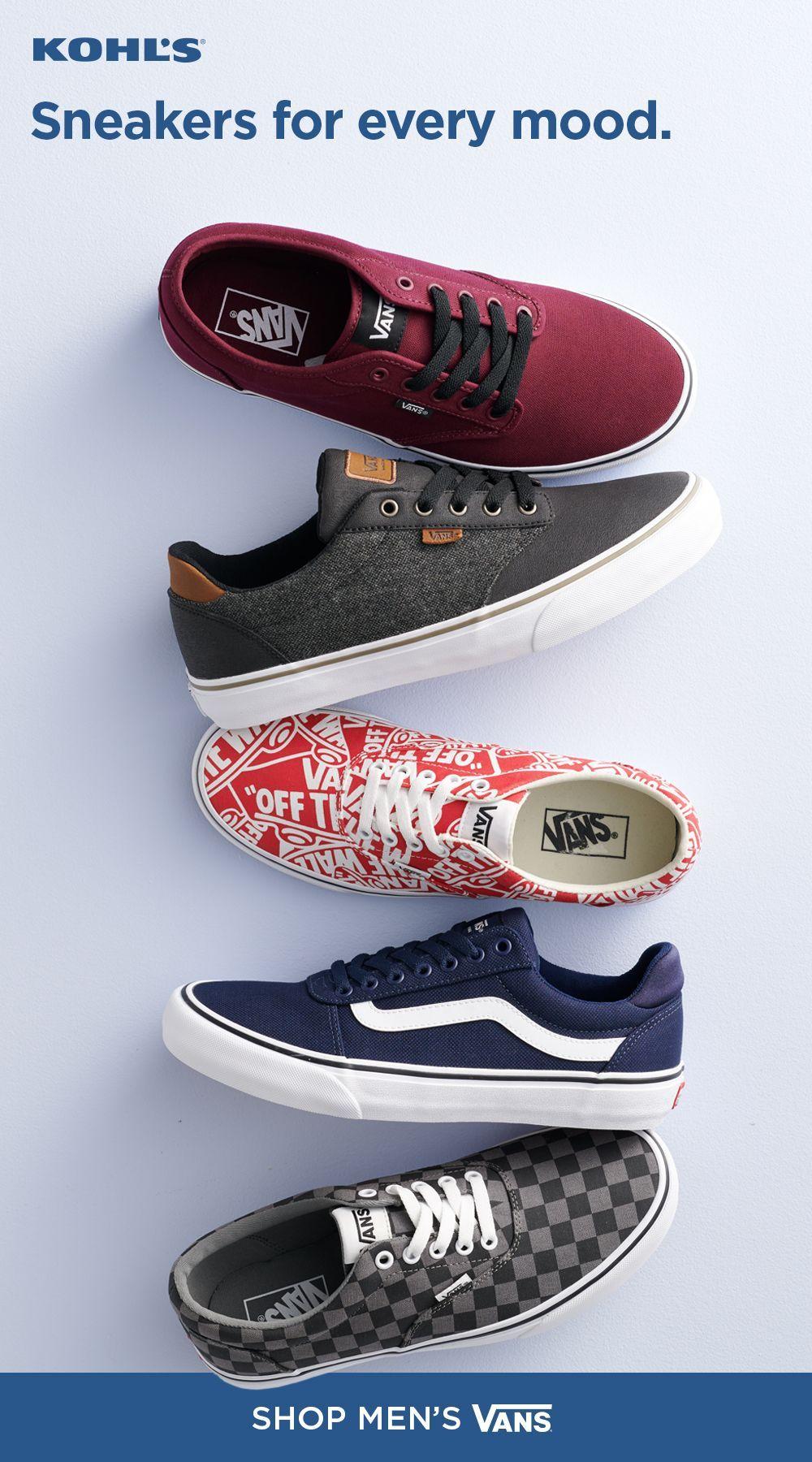 Sneakers men fashion, Mens vans shoes