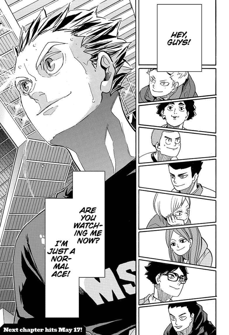 haikyuu chapter 392 read haikyuu
