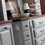 baltic bay cabinets by thomasville | Grey Gray Kitchen | Pinterest ...