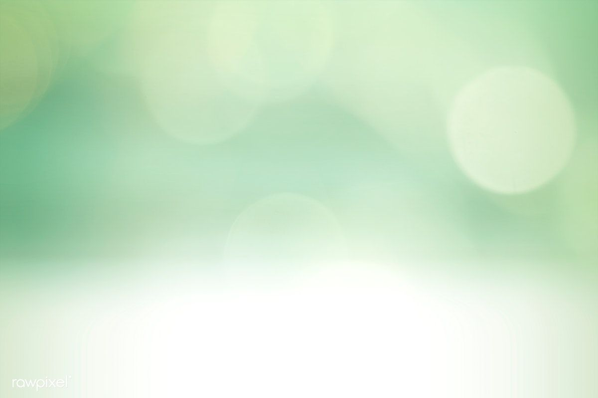 Green Bokeh Textured Plain Background Free Image By Rawpixel Com