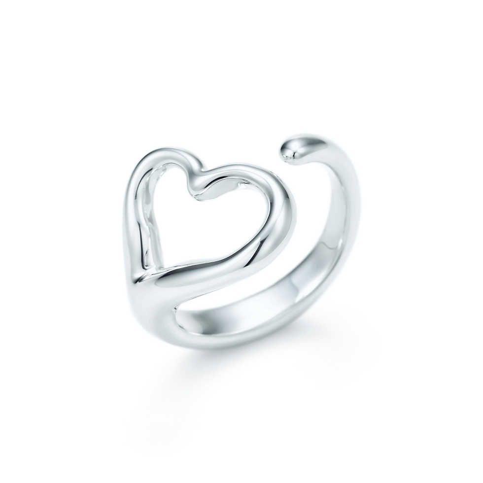 228e8355925b De esas cosas que podrías comprarte pero te encantaría que te regalaran  3  Elsa Peretti®  Anillo Open Heart