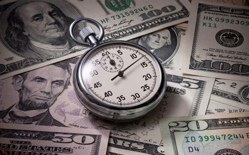 Time Is Money HD Desktop Wallpaper