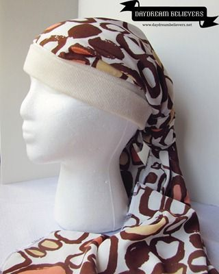 Daydream Believers: Updated Chemo Cap–Head Scarf Tutorial | nähen ...