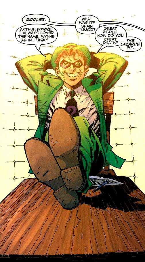 Dc comics Riddler | Size of this preview: 265 × 479 pixels . Other resolution: 133 × 240 ...