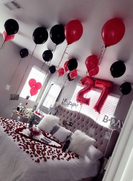 52 Ideas Birthday Surprise Ideas For Boyfriend Balloon For Him For