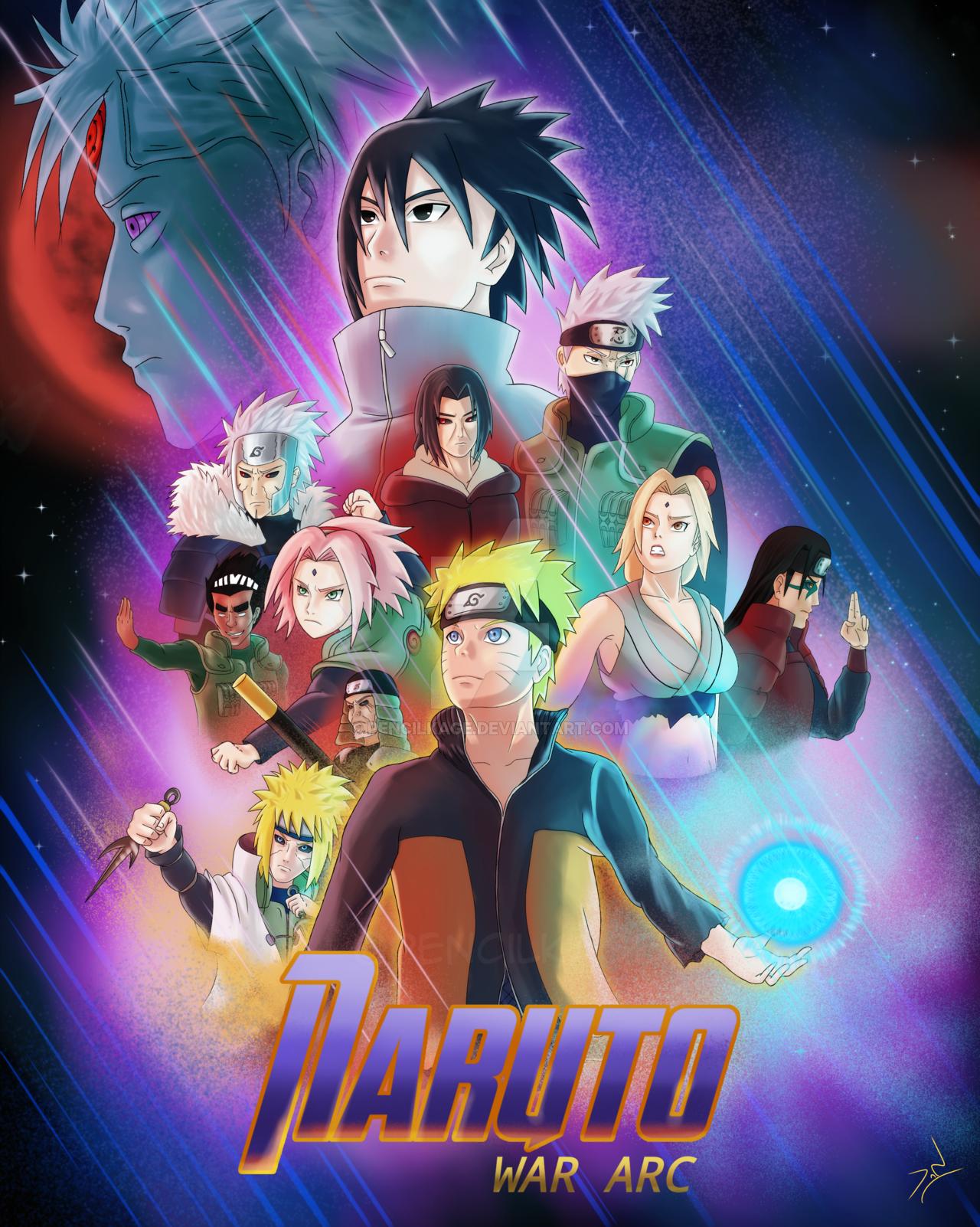Наруто Конец игрового плаката от PencilKage на DeviantArt