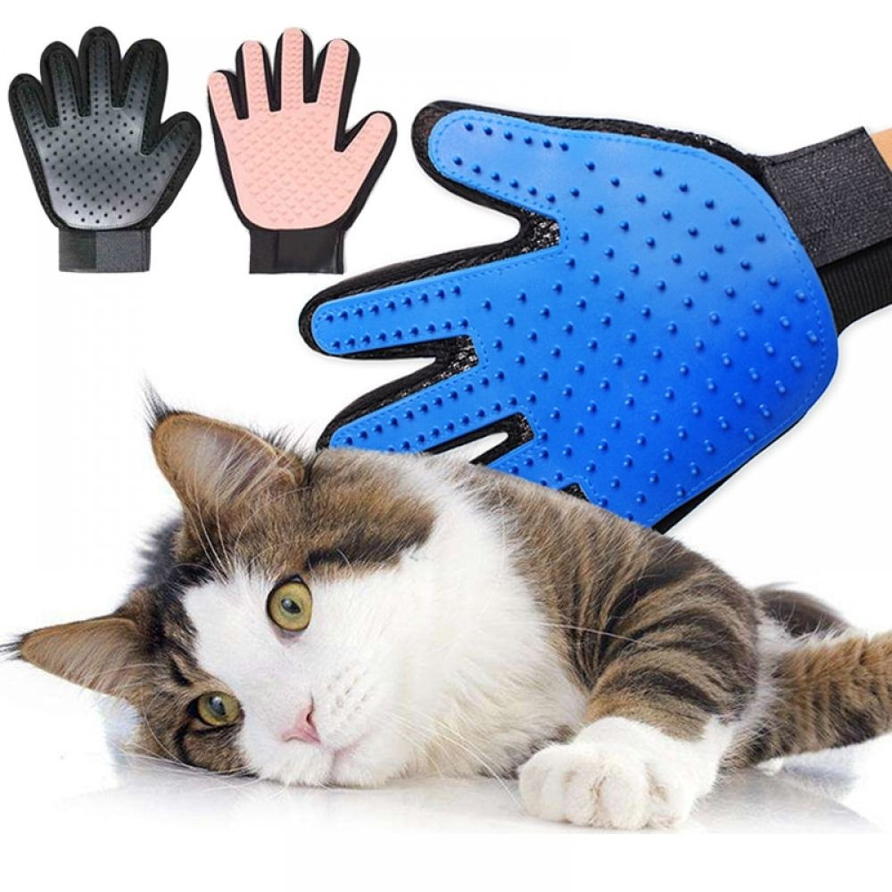 Glove For Cats Cat Grooming Silicone Pet Dog brush Glove