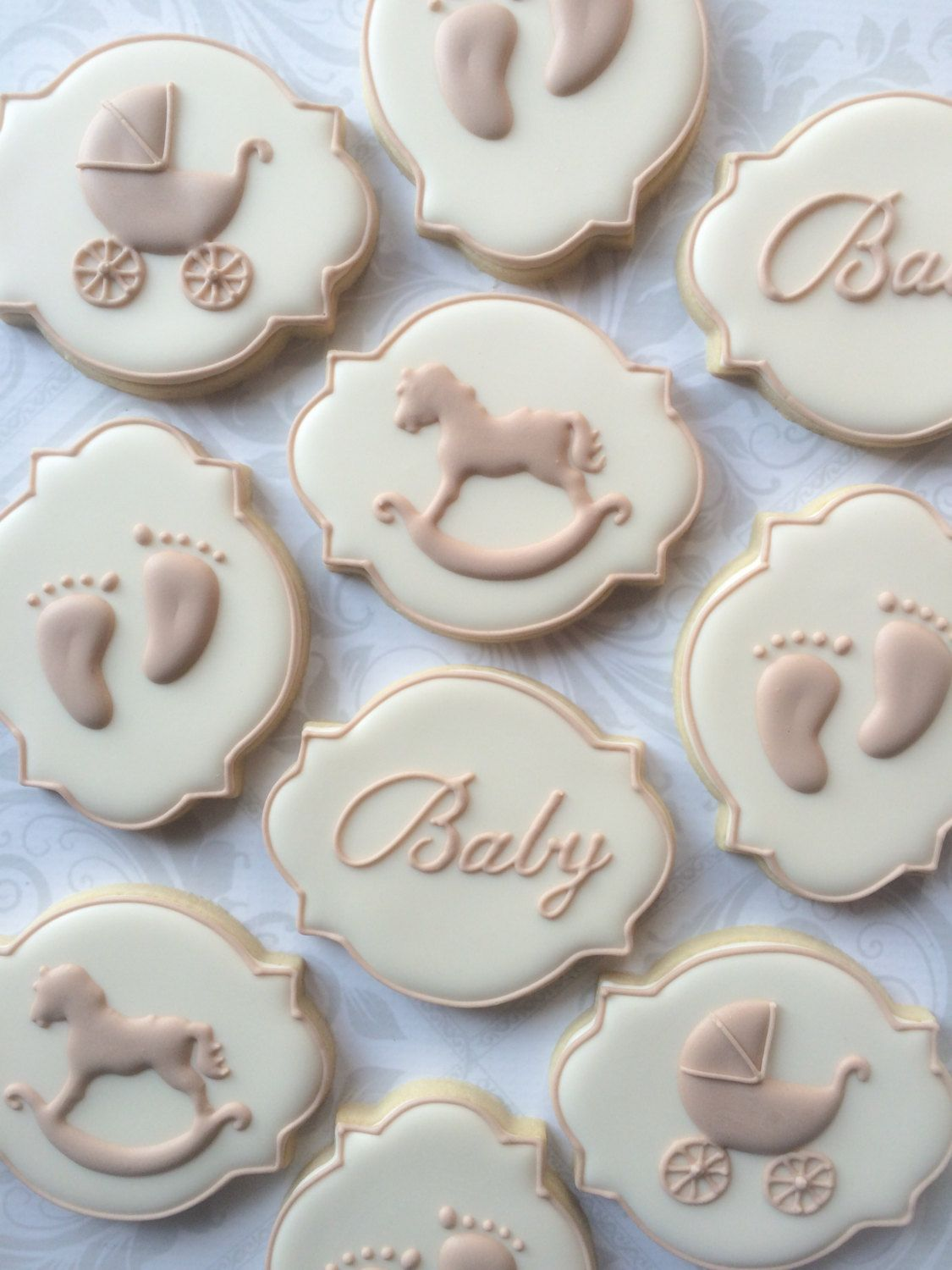 Pin By Baby Essentials On Baby Showers In 2019 Baby Shower Cookies