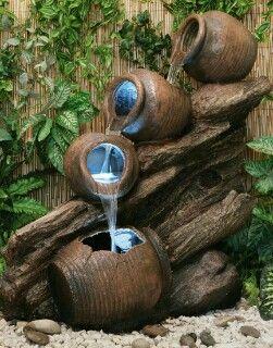 Pin by Pam Miller on Fountains | Jardins, Decoration jardin, Déco jardin